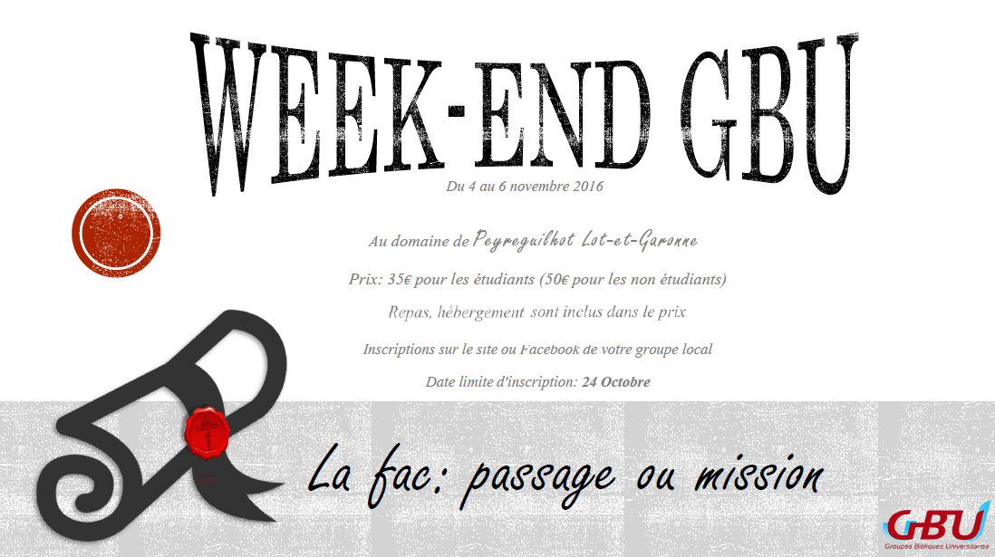 Flyer Week-end Rentrée 2016
