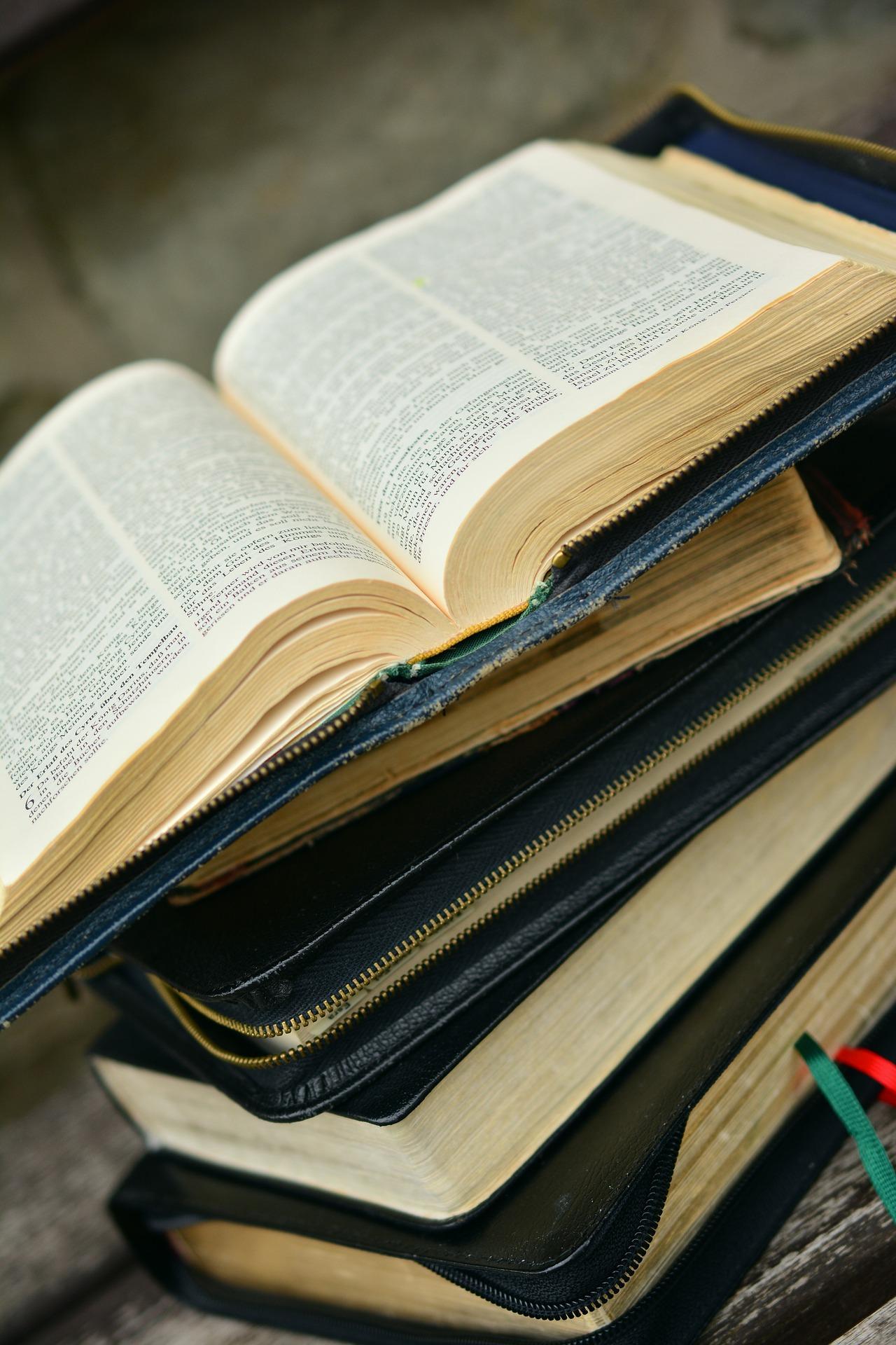 plusieurs bibles